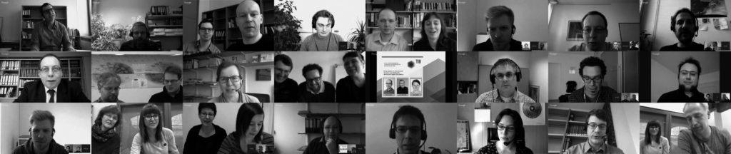 Gallerie mit Screenshots von den Vortragenden und ModeratorInnen des BibCasts 2016